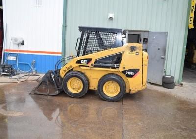 Cat 216B Bobcat on tyres